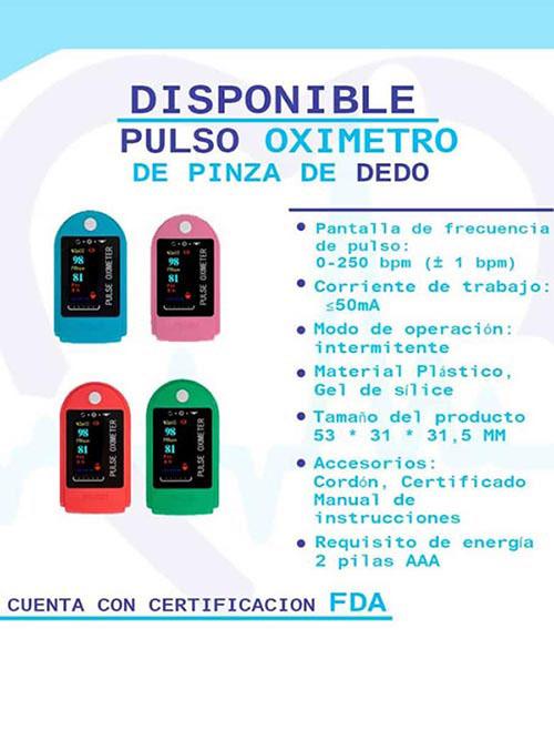Oximetro - Pulsioxímetro